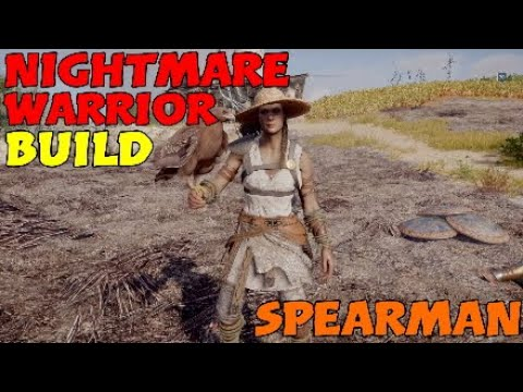 Nightmare Warrior Build (Powerful Spearman Build) - Assassin's Creed: Odyssey thumbnail
