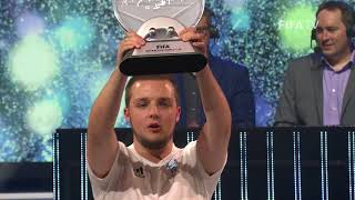 GORILLA CROWNED FIWC WORLD CHAMPION!
