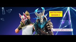 What does BATTLE PASS ss5? | Fortnite Battle Royale | Review Battle Pass Season 5