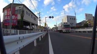 自転車で豊川にいくよ1(静岡~藤枝)