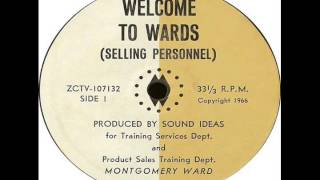 Montgomery Ward - Welcome To Wards: Selling Personnel (1966) Thumbnail