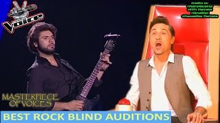 BEST ROCK SONG AUDITIONS IN THE VOICE [PART 1]