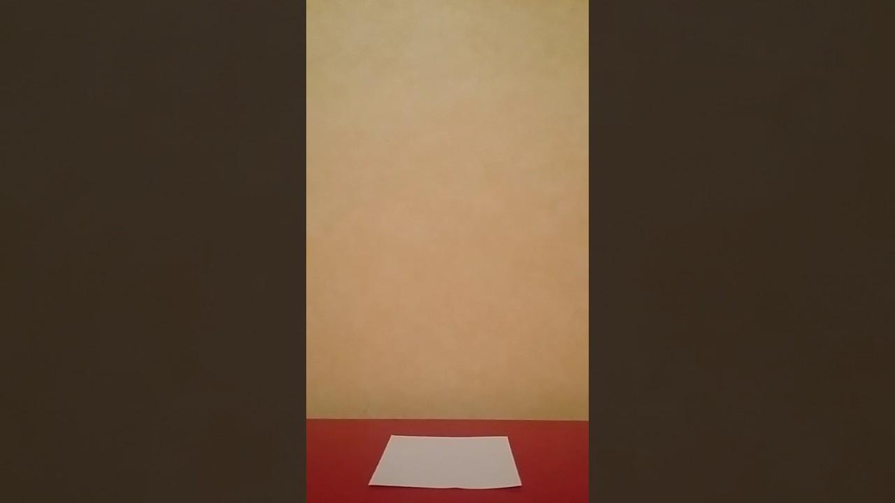 tuto comment faire une cocotte en papier youtube. Black Bedroom Furniture Sets. Home Design Ideas