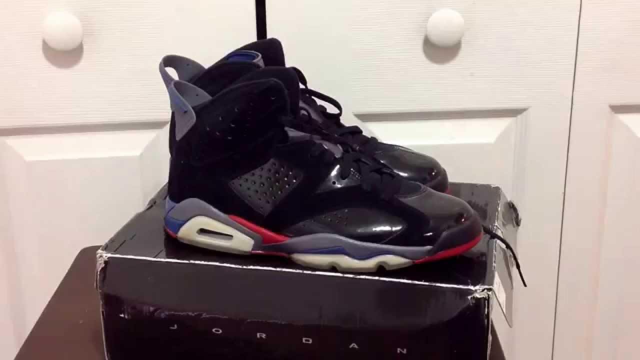 f55f487b2a5 Jordan 6 Retro Pistons 6 Review - YouTube