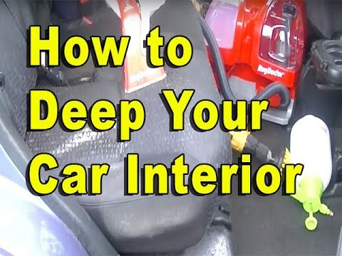 How To Deep Clean a Dirty Interior with a Carpet Extractor