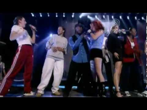 Spice Girls - Wannabe (Live @ TOTP's August 1996) HQ