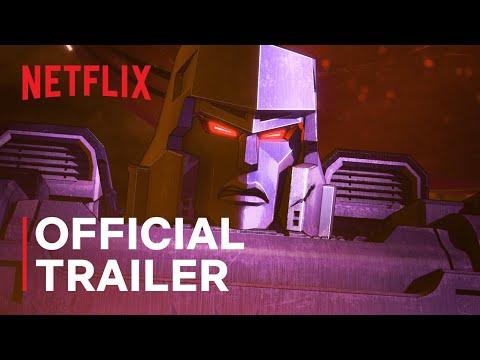 Transformers: War For Cybertron Trilogy - Kingdom | Official Trailer | Netflix