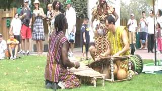 Ballet Djelia Kadi Performance - Drum, Dance & Balafon!!
