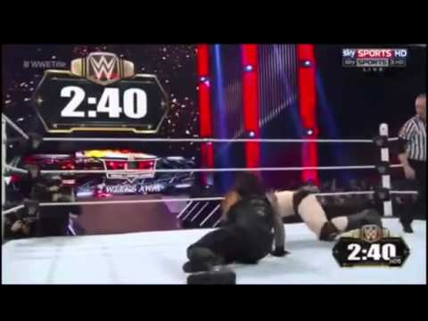 WWE RAW Roman Reigns vs Sheamus Fight 5:15 Min