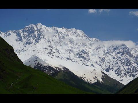 Georgia (Caucasus) Motorcycle Adventure EP2/5 Ushguli - Lentekhi - Kutaisi