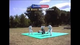 Taekwondo Forms and Applications