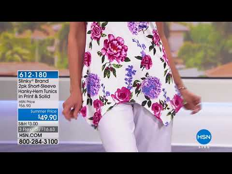 HSN | Slinky Brand Fashions Anniversary 05.24.2018 - 06 PM