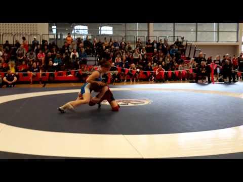 2015 Junior National Championships: 55 kg Julie Steffler vs. Tianna Kennett