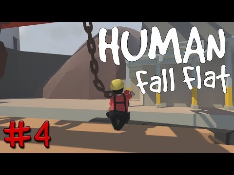 Human: Fall Flat | Indie Game | Manual Labour Is Hard Work #4
