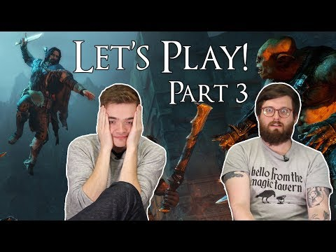 Let's Play Shadow of Mordor part 3: HATE OF CARAGORS