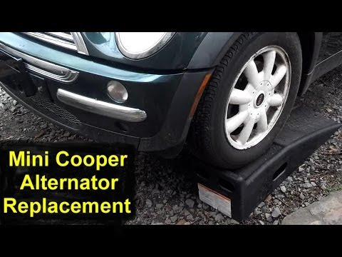 How to replace the alternator in the Mini Cooper  VOTD
