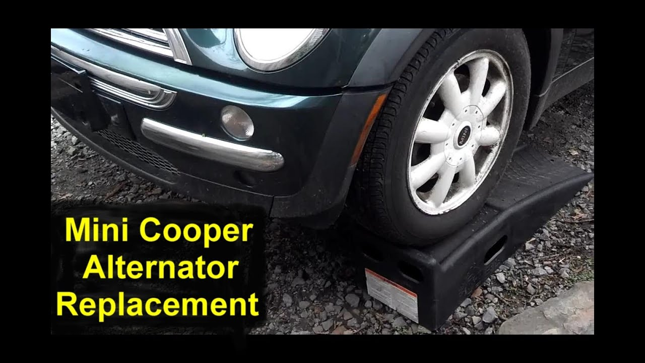 hight resolution of how to replace the alternator in the mini cooper votd