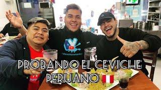 PROBANDO EL CEVICHE PERUANO  |…