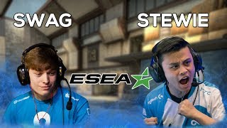 SWAG IS TOO HIGH!? Stewie2k ESEA Rank S Adventures (ft. SWAG, Autimatic, Witmer)