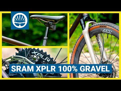 SRAM XPLR | Gravel Suspension Fork + Dropper + NEW Groupset | GRX Killer?