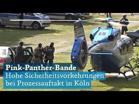 Pink-Panther-Bande: Sicherheitsvorkehrungen bei Prozessauftakt am Landgericht Köln