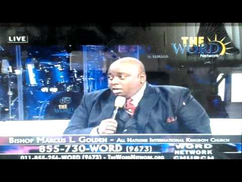 Bishop Marcus L. Golden on The Word Network Church