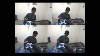 "The Strokes ""Reptilia"" (short instrumental Guitar COVER)"
