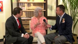 Paula Deen Market Chat With The Harris Brothers
