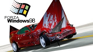 Corrupted Forza For Windows 98...