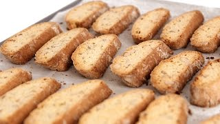 Almond Biscotti Recipe - Laura Vitale - Laura In The Kitchen Episode 557