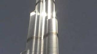 Burj Khalifa Dubai von aussen  höchster Turm der Welt www.VIP-Reisen.de