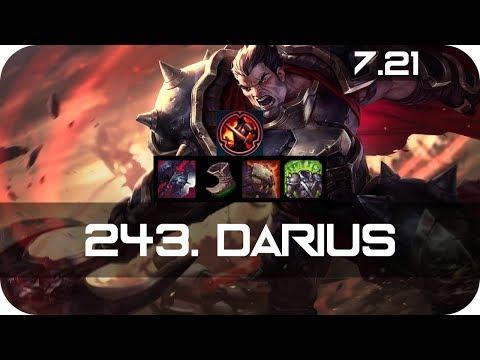 Darius Top Vs Renekton Season 7 S7 Patch 7.21 2017 Gameplay Guide Build Normals