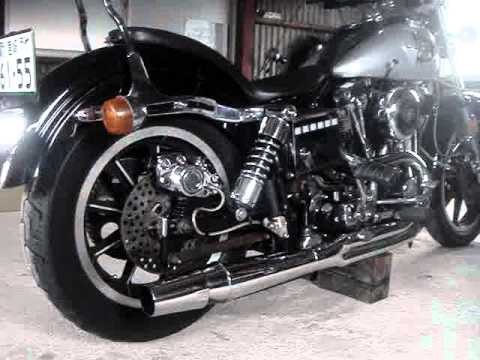 Harley Davidson 1979 FXS Low Rider THUNDERHEADER Muffler