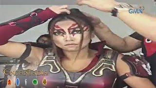 Encantadia: Rochelle Pangilinan's makeup transformation as Agane