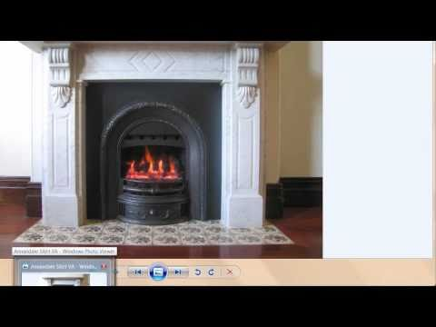 Victorian Fireplace converted to Gas