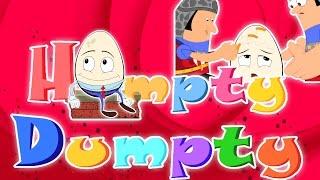Humpty Dumpty ngồi trên một bức tường | compilation | trẻ em vần | Nursery Rhyme | Kids & Baby Song