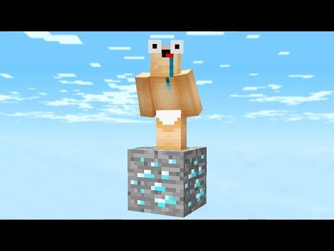 Thumbnail: SURVIVING IN MINECRAFT WITH ONLY 1 DIAMOND!