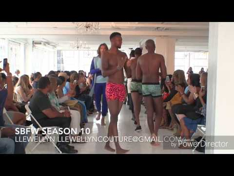 Llewellyn interview and runway Presentation at SMALL BOUTIQUE FASHION WEEK Vlog