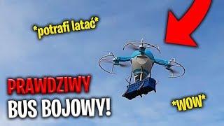 TESTUJĘ DRONA BUSA BOJOWEGO Z FORTNITE!