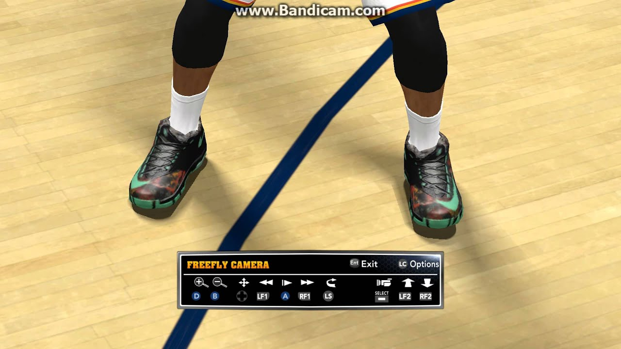 san francisco 5a5f4 80cc1 NBA 2K14 Kobe 9 KD 6 Lebron 11(ALL STARS) in game look.