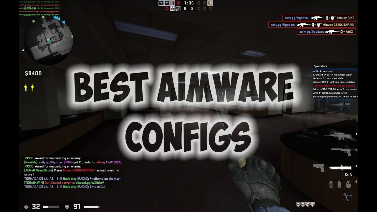 BEST AIMWARE NET CONFIGS ! (FREE CFG)