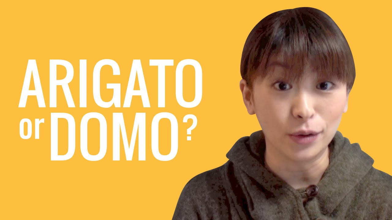 Ask a Japanese Teacher! What's the difference between ARIGATO and ...