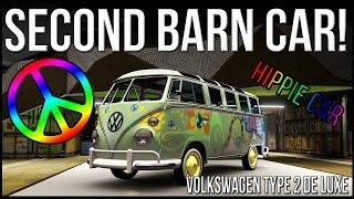 2ND BARN CAR LOCATION FORZA HORIZON 2 VOLKSWAGEN TYPE 2 DE LUXE [HIPPIE CAR] SCHEUNENFUND