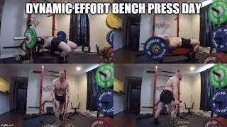7-19-2019 Orc Mode Training -  Dynamic Effort Chain Bench Press & Accessories