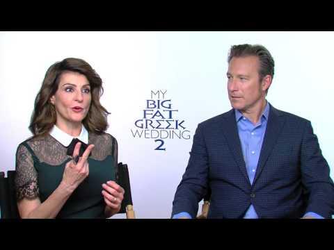 My Big Fat Greek Wedding 2: Nia Vardalos & John Corbett Official Movie Interview