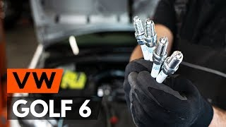 Hvordan bytte tennplugger der på VW GOLF 6 (5K1) [BRUKSANVISNING AUTODOC]
