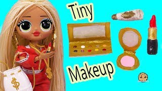 diy small makeup easy do it yourself clay craft eyeshadow palette lipstick