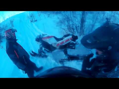 Sled ride 2 - From our pit stop back to the truck and a bit of field rippin