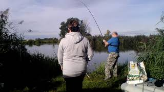 Рыбалка в Германии Попытка поймать крупного карпа