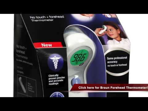 Braun NTF3000US Braun No Touch Plus Forehead Thermometer Review